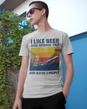 Boeing 747 I Like Beer Classic T-Shirt apparel-classic-tshirt-lifestyle-17
