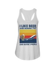 Boeing 747 I Like Beer Ladies Flowy Tank tile