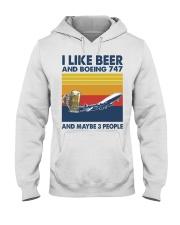 Boeing 747 I Like Beer Hooded Sweatshirt tile