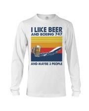 Boeing 747 I Like Beer Long Sleeve Tee tile