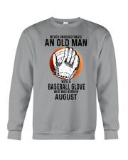 08 baseball old man Crewneck Sweatshirt tile