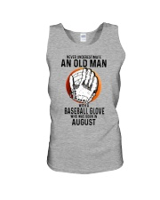 08 baseball old man Unisex Tank tile