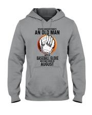 08 baseball old man Hooded Sweatshirt tile