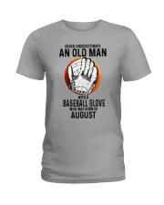 08 baseball old man Ladies T-Shirt tile