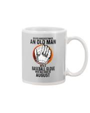 08 baseball old man Mug tile