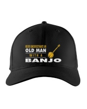 hat banjo old man Embroidered Hat thumbnail