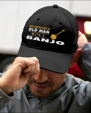 hat banjo old man Embroidered Hat garment-embroidery-hat-lifestyle-01