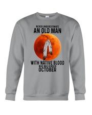 10 native old man Crewneck Sweatshirt tile