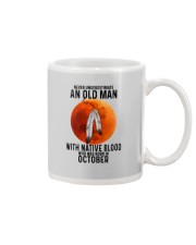 10 native old man Mug tile