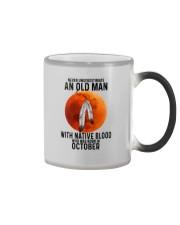 10 native old man Color Changing Mug tile