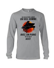 08 piano old man france Long Sleeve Tee tile