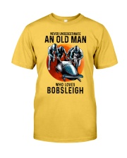 bobsleigh old man Classic T-Shirt front