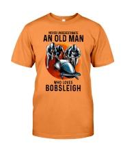 bobsleigh old man Premium Fit Mens Tee tile