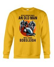 bobsleigh old man Crewneck Sweatshirt tile