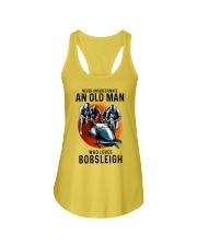 bobsleigh old man Ladies Flowy Tank tile