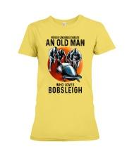 bobsleigh old man Premium Fit Ladies Tee tile