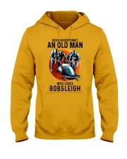 bobsleigh old man Hooded Sweatshirt tile