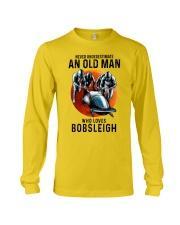 bobsleigh old man Long Sleeve Tee tile