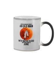 06 native old man Color Changing Mug tile