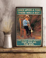 Trumpet Once Upon Poster 24x36 Poster lifestyle-poster-3