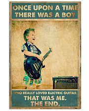 Electric Guitar Once Upon Poster 24x36 Poster front