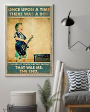 Electric Guitar Once Upon Poster 24x36 Poster lifestyle-poster-1