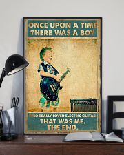 Electric Guitar Once Upon Poster 24x36 Poster lifestyle-poster-2
