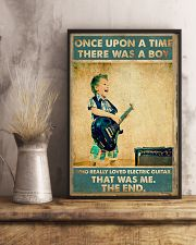 Electric Guitar Once Upon Poster 24x36 Poster lifestyle-poster-3