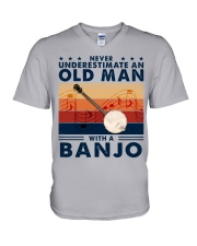 Banjo V-Neck T-Shirt tile