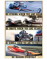 be strong drag racing 24x36 Poster front