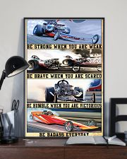 be strong drag racing 24x36 Poster lifestyle-poster-2