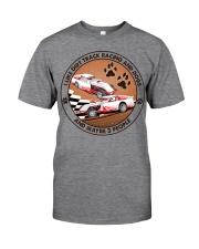 i like dog Dirt track racing Classic T-Shirt tile