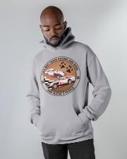 i like dog Dirt track racing Hooded Sweatshirt apparel-hooded-sweatshirt-lifestyle-front-09