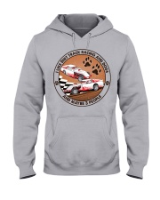 i like dog Dirt track racing Hooded Sweatshirt front