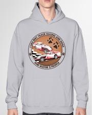 i like dog Dirt track racing Hooded Sweatshirt garment-hooded-sweatshirt-front-04