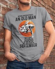 09 judo olm never Classic T-Shirt apparel-classic-tshirt-lifestyle-26