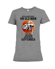 09 judo olm never Premium Fit Ladies Tee tile