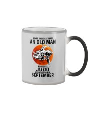 09 judo olm never Color Changing Mug tile