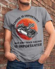 red school-Dirt track racing Classic T-Shirt apparel-classic-tshirt-lifestyle-26