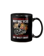 Biker Happiness Mug tile