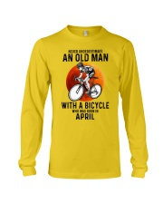 04 cycling never old man Long Sleeve Tee tile