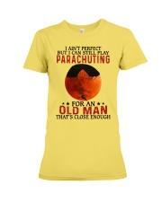 parachuting pefect olm Premium Fit Ladies Tee tile