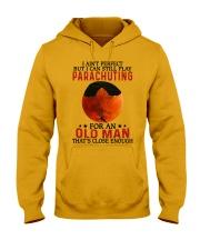 parachuting pefect olm Hooded Sweatshirt tile