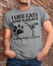 likecats-karate Classic T-Shirt apparel-classic-tshirt-lifestyle-26
