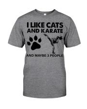 likecats-karate Classic T-Shirt front