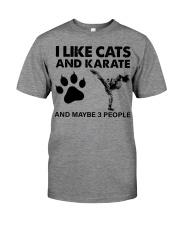 likecats-karate Premium Fit Mens Tee tile