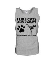 likecats-karate Unisex Tank tile