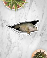 Crappie Sticker - Single (Horizontal) aos-sticker-single-horizontal-lifestyle-front-06