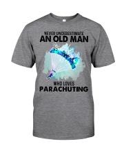 never parachuting Classic T-Shirt tile