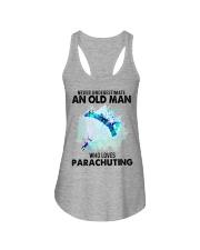 never parachuting Ladies Flowy Tank tile